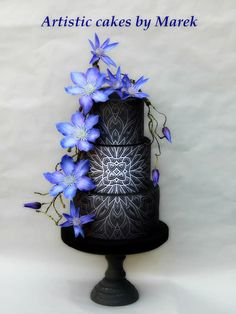 Wedding cake Clematis by Marek