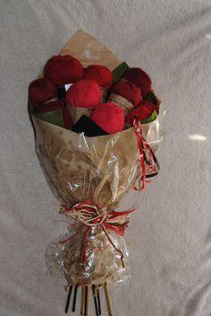 un bouquet original.merci Sarah
