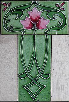 """cgmfindings:  """" Art nouveau tile  """""""