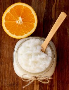 You'll thank yourself for making this soothing DIY Orange Sugar Scrub! Your hands and feet will be feeling soft and smooth in no time