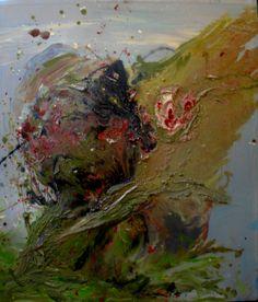 Ouroborus  Oil on canvas by David Nemeth