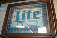 Lite Beer, bar sign, Vintage
