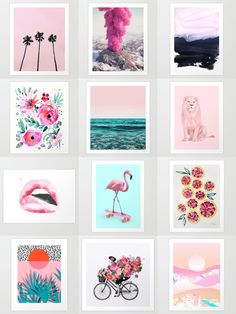 Shop unique and original art prints on Society6. Society6 is home to hundreds of thousands of artists from around the globe, uploading and selling their original works as 30+ premium consumer goods from Art Prints to Throw Blankets. They create, we produce and fulfill, and every purchase pays an artist.