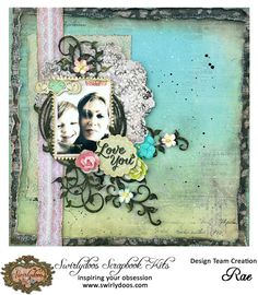 Scrapping Fancy: Swirlydoos Kit Club January Reveal and Blog Hop