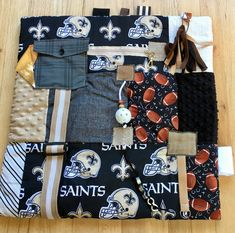 Excited to share this item from my shop: Large Alzheimer's Fidget Quilt for Dementia Dementia Care, Alzheimer's And Dementia, Alzheimer's Symptoms, New Orleans Saints Football, Fidget Blankets, Fidget Quilt, Aging Parents, Custom Quilts, Elderly Care