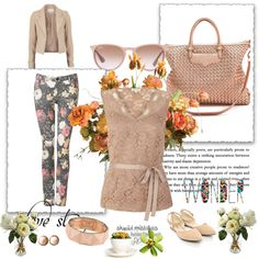 """creamy love story"" by dahliafahrian on Polyvore"