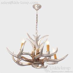 12 best kids nursery chandelier pendant lights images on pinterest antique fake faux antler chandeliers lighting aloadofball Image collections
