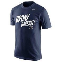 New York Yankees Nike My Team My City Local Verbiage Bronx T-Shirt - Navy - $20.79
