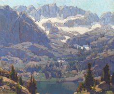 EDGAR PAYNE, Lake in the Sierras