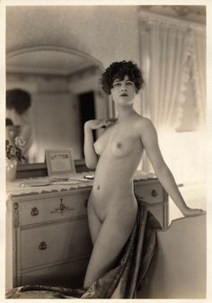 California Vintage Nude-1926- by Albert Arthur Allen, Ziegfeld Girl - for Tuscan Productions ( for MalinJames* )