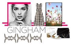 """""""gingham"""" by jennross76 ❤ liked on Polyvore featuring Chloé, Rochas, Tahari and gingham"""