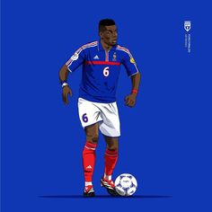 Excellent football player illustrations created by FCVectoraldo. They featured present day greats as well as past legends in a variety . Football Icon, Retro Football, Football Art, Football Player Drawing, Football Players, Cute Wild Animals, Soccer Poster, Football Wallpaper, Uefa Champions League