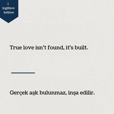 Improve Your English, Learn English, English Words, English Quotes, Book Quotes, True Quotes, Turkish Lessons, Learn Turkish Language, Reminder Quotes