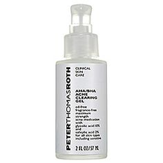 Peter Thomas Roth - AHA/BHA Acne Clearing Gel...when I have monies, this is being purchased!