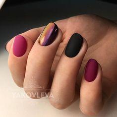 Hair And Nails, My Nails, Crome Nails, Chrome Nail Polish, Matte Nail Art, Glow Nails, Minimalist Nails, Beautiful Nail Designs, Nail Manicure