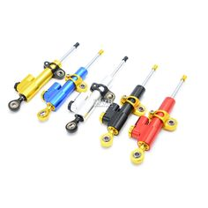 28.49$  Watch now - http://ali0dd.worldwells.pw/go.php?t=32771456831 - 5 colors Universal For Most Motorcycle High quality CNC aluminum  Steering Stabilizer Damper  For Suzuki GSXR GSX-R 600 750 KTM