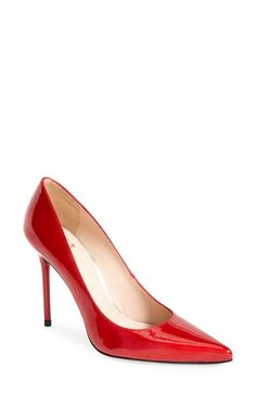 Free shipping and returns on Stuart Weitzman 'Nouveau' Pump at Nordstrom.com. A low-cut vamp heightens the allure of a single-sole pump set on a slim, stiletto heel. <br><br>Stuart Weitzman shoes are favorites among editors, stylists and celebrities – and it's no wonder. Each Stuart Weitzman shoe is crafted in Spain with a keen attention to detail and made to feel as great as it looks.