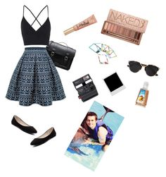 """beach party ♥"" by ravzotte ❤ liked on Polyvore featuring Dr. Martens, Rumour London, Topshop, Verali, Impossible, DOIY, Christian Dior, Urban Decay and Too Faced Cosmetics"