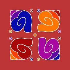 Image result for rangoli designs with dots