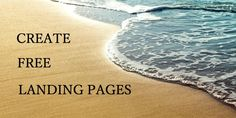 Want to create free landing pages for your online business so you can increase your conversion rate, create an email list and increase your revenue?  #landingpage #landing #emailmarketing #onlinemarketing #marketing