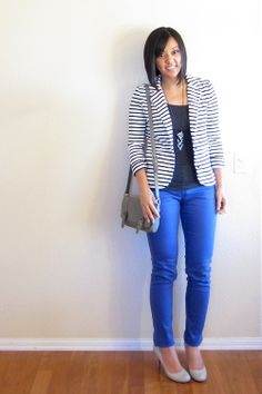 Striped Blazer Ideas