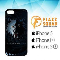 Wolves United Z4159 iPhone 5|5S|SE Case
