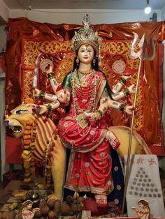 Mata Rani, Durga Maa, Gods And Goddesses, Samurai, Mobile Wallpaper, Fair Grounds, Art, Art Background, Kunst