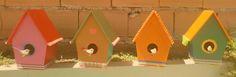 casitas para pajaritos