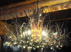 The Appalachian  Rustic Outdoor Chandelier by CraftyGeminiCreation  ATSocialMedia.co.uk #RePin