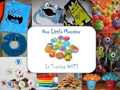Audrey loves monsters! This would be a fun theme for her 4th birthday.