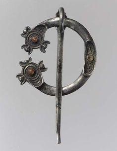 New york Antique Map Brooch Hairpin Bronze Silver Irish Handmade Jewelry
