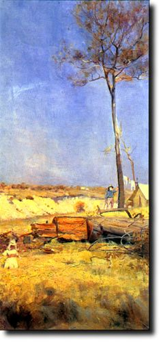Charles Conder, Australian artist  - English born artist of the Heidelberg school who migrated to Australia