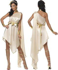 Artemis goddess costume. Toga Party.