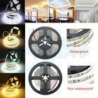 Bright 5M 300Led Non Waterproof Warm Cool SMD 3014 Flexible Car LED Strip Light