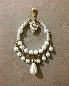 Bijuteria Imported from the United States. Wire Jewelry, Jewelry Crafts, Beaded Jewelry, Beaded Bracelets, Jewellery, Handmade Jewelry Designs, Handcrafted Jewelry, Earrings Handmade, Bijoux Diy