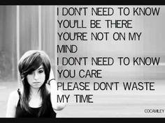 Christina Grimmie - Liar Liar - Lyrics On Screen (Studio Version)