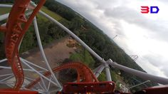 Sky Scream 3D front seat on-ride HD POV Holiday Park