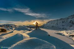The ruler of the mountains - Black Lake - National Park Adamello-Brenta, Dolomites Italy