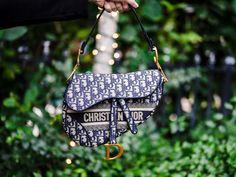 The Ultimate Bag Guide: Dior Saddle Bag Black Saddle Bag, Dior Saddle Bag, Leather Saddle Bags, Dior Fashion, Fashion Bags, Dior Boutique, Dior Shoes, Dior Sneakers, Red Blush