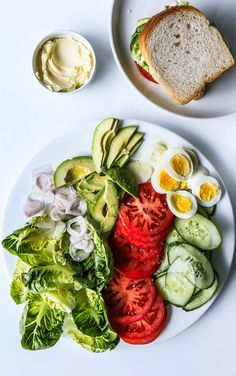 For a dippable version of the ranch spread, sub sour cream for the buttermilk and serve with crudités.