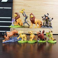 Bonito 9 pçs/lote O Rei Leão Figura de Ação DO PVC brinquedos educativos para crianças casa decoração em Figuras de ação & Toy de Brinquedos Hobbies & no AliExpress.com | Alibaba Group