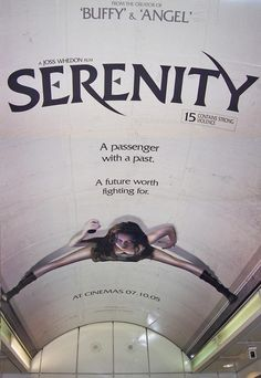 Amazing Serenity poster featuring Summer Glau.