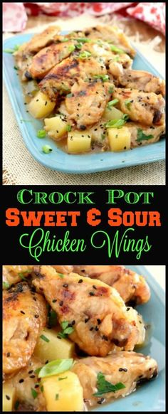 Making your own Crock Pot Sweet and Sour Chicken Wings is easy and economical and starts with ingredients you probably already have in your pantry. http://kitchendreaming.com/crock-pot-sweet-and-sour-chicken-wings/