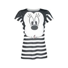 Mickey Minnie Mouse T-Shirt ($26) ❤ liked on Polyvore featuring tops and t-shirts
