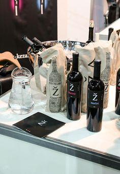 Bolsas de algodón para una botella de vino
