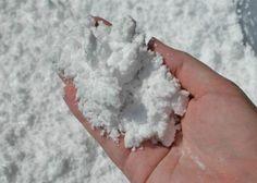 Sneeuw met Baking Soda en scheerschuim (Bron: Growing a Jeweled Rose)