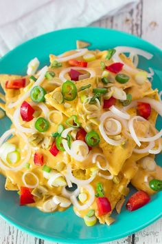Made with just a handful of staple ingredients, my vegan nacho cheese is creamy and cheesy, with a little bit of a spicy kick. | yumsome.com