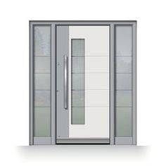 Interior and exterior doors by MilanoDoors, contemporary italian doors, modern wood doors. Modern Wood Doors, Contemporary Front Doors, Modern Stairs, Modern Exterior, Interior And Exterior, Italian Doors, Garage Door Design, Garage Doors, The Great
