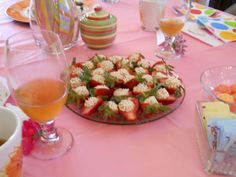 """""""Deviled Strawberries"""": Mother's Day Mother-Daughter Tea Party, 2012"""