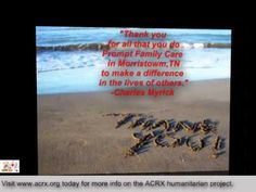 Prompt Family Care Receive Tribute & Free Medicine Help by Charles Myrick of ACRX